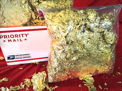 1,000 GRAMS Gold Leaf Flakes Huge BEST Premium Quality on eBay Guaranteed Finest