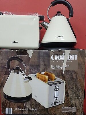 Twinset kettle & toaster Raw return untested