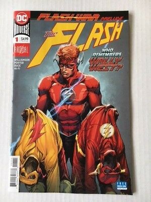 DC Comics: The Flash Annual #1(2018) - BN - Bagged and Boarded
