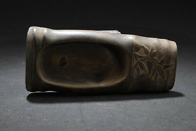 Fine Quality Old Chinese Ink Stone Hand Carving with Marks