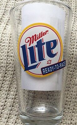 Miller Lite - Rusty Wallace Beer Glass