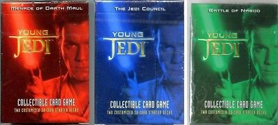 Star wars 3 starters YOUNG JEDI VO NSB