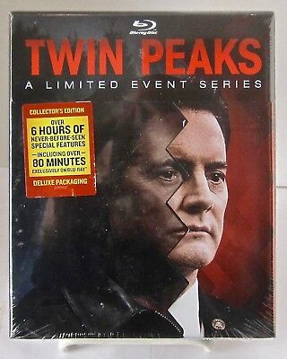 Twin Peaks: A Limited Events Series Blu-Ray Set with Six Hours Bonus Material