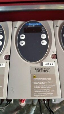 Telemecanique Schneider Electric ALTIVAR 31  0.75KW  1HP Inverter Speed Drive