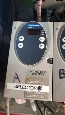 Telemecanique Schneider Electric ALTIVAR 31  0.37KW  0.5HP Inverter Speed Drive