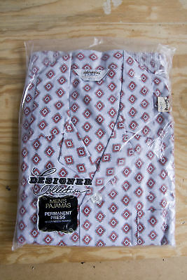 New Vintage Pajamas Men's Medium Designer Collection N.O.S. Thrifty Acres