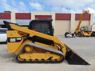 """2015 Cat 299-D Turbo """"2 Speed"""" - Air Conditioned - Hyd Coupler - Self Leveling"""