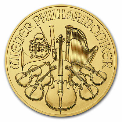 2018 Austria 1 oz Gold Philharmonic BU - SKU#152539