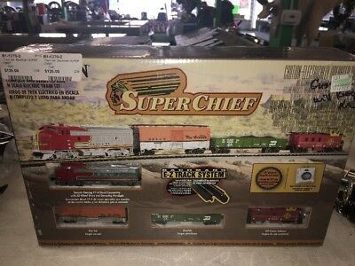 N Scale Super Chief Complete Freight Train Set Bachmann New in Box 24021