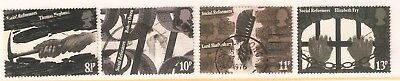 Collectible Great Britain 1976 USED Stamps:19th C Industrial & Social Reformers