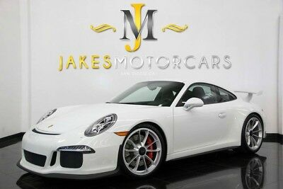 2015 Porsche 911 GT3 (ONLY 2400 MILES!) 2015 PORSCHE 911 GT3, ONLY 2400 MILES! FRONT LIFT, CARBON FIBER INT PKG, LOADED!