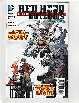 Red Hood and the Outlaws (2011) #28 NM- 9.2 DC Comics New 52