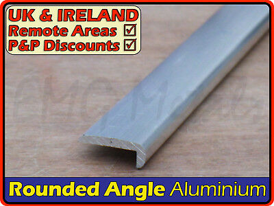 Aluminium Rounded Corner Nosing ║ 25 x 10 mm ║ (hockey stick,round edge,profile)