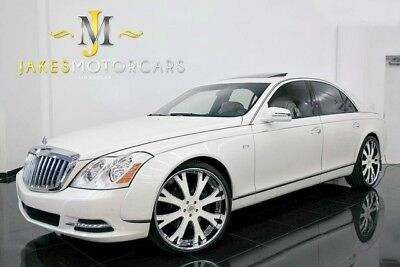 2011 Maybach 57 S ($425K MSRP) 2011 MAYBACH 57S, $425K MSRP, ANTIGUA WHITE ON WHITE, ONLY 28K MILES