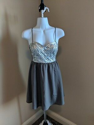 0fd7dfd0f17bb NEW* DIVIDED H&M Sequin Dress Boho Anthropologie Free People NEW! M ...