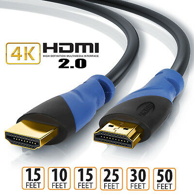 Short/Long HDMI Cable v2.0 3D Ultra HD 4K@60Hz 2160p 1080p Ethernet HEC ARC 18Gb