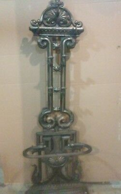 Cast Iron Hall Tree Or Coat Rack