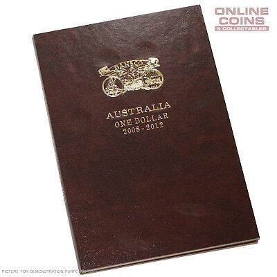Dansco Deluxe Australian $1 2008 - 2012 Push-in Coin Album