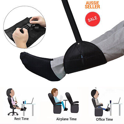 Travel Foot Rest Footrest Legs Pillow Flight Cushion Hammock Portable Folding AU