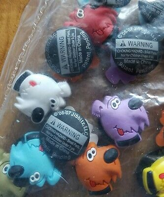Dog Face Jibbitz Crocs Shoe Charms Puppy LOT OF 25 Fit Ontario Backpacks