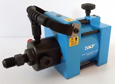 Air-driven hydraulic pump  SKF THAP-030E and oil injector 4350 psi