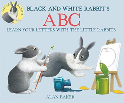 Baker Alan-Black And White Rabbit`S Abc  (US IMPORT)  HBOOK NEW