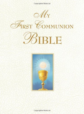 Saint Benedict Press (Cor)-My First Communion Bible White  (US IMPORT)  BOOK NEW