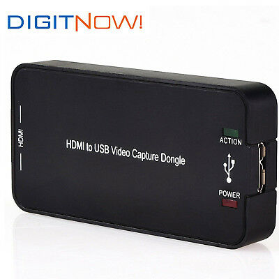 DIGITNOW! HDMI Video Capture with USB3.0 / 2.0 in 1080P Record Card Box