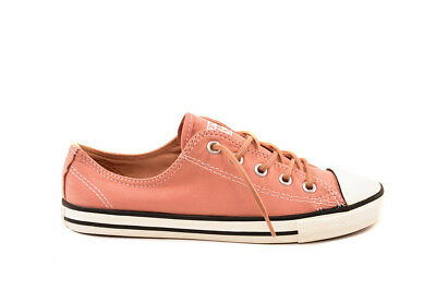 0c8535d5f057 Converse Women CTAS Dainty Peached Canvas 553418C Sneakers UK 8 RRP £59  BCF81