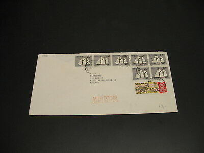Singapore 1985 airmail cover to Finland *30107