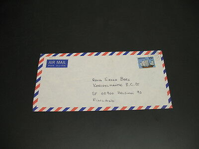 Singapore 1985 airmail cover to Finland *30112