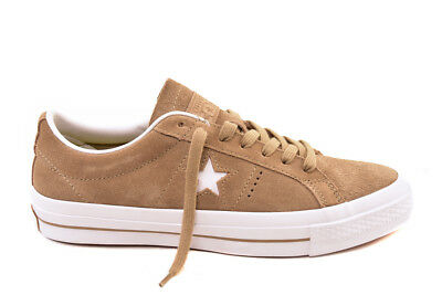 b0b650b552a19 CONVERSE UNISEX ONE Star Suede OX 153965C Sneakers Sandy White UK 9 ...