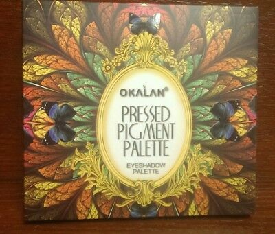 Okalan® Pressed Pigment Palette 20 Colors Shadow Palette