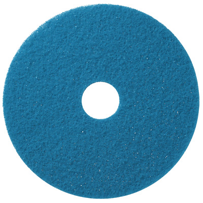 Pack of 5- Blue Scrubbing Floor Pads