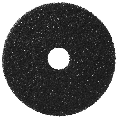 Pack of 5- Black Scrubbing Floor Pads