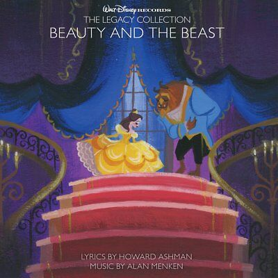 Walt Disney The Legacy Collection: Beauty and the Beast 2 CD ALBUM NEW (7TH MAR)