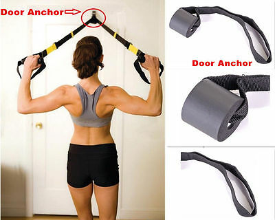 Foam Door Anchor for Resistance Band Tube Doorway Muscle Building Strength Train