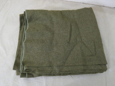 US ARMY WW2 1940 Wool virgin Blanket Depot Wolldecke Decke 1,65 x 2m