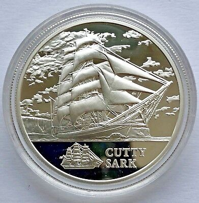 "Republic of Belarus SILVER coin 20 Rubles ""Ship Cutty Sark"" 2011"