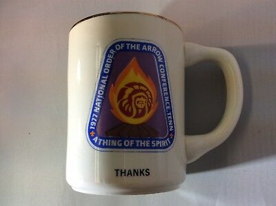 1997 National Order of the Arrow Confrence Tennessee NOAC Coffee Mug Thanks