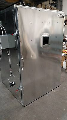 batch powder coat coating electric curing oven    NEW   DELUXE model