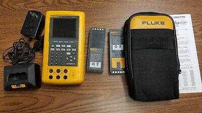 Fluke 741B Documenting Process Calibrator - Good Cond - w/ NIST Calibration