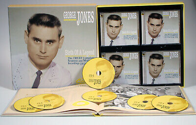 George Jones - Birth Of A Legend - The Truly Complete Starday And Mercury Rec...