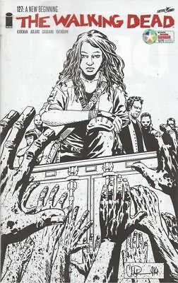 Walking Dead #127 Retailer Summit B&W Variant Comic Book