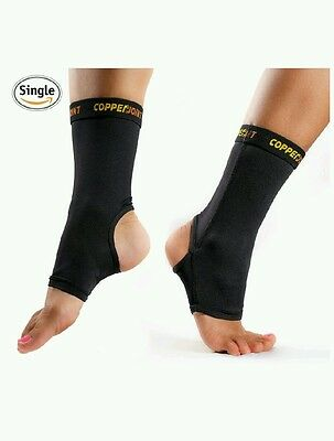 Joint Compression Ankle Sleeve #1 Plantar Fasciitis Sock, Infused Arch Support