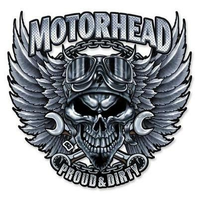 HOT ROD MOTORHEAD MECHANIC Metal Sign Man Cave Garage Body SHOP Cabin Shed BARN