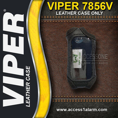 Viper 2-Way 7856V LED Remote Control Protective Leather Case For The 5806V