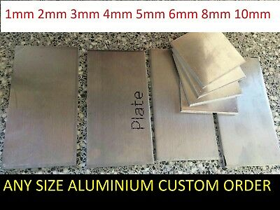 aluminium sheet plate plain 3mm 4mm 5mm 6mm 8mm 10mm plain Any thick any size