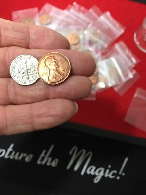 Dime and Penny Vintage Trick - Suitable for Scotch & Soda Effect - New Old Stock
