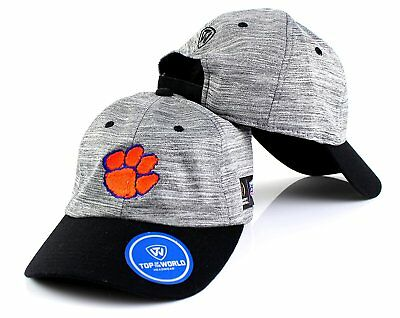 9256d9429 CLEMSON TIGERS CAP Hat NCAA Top of the World Team Logo Slouch Adjustable